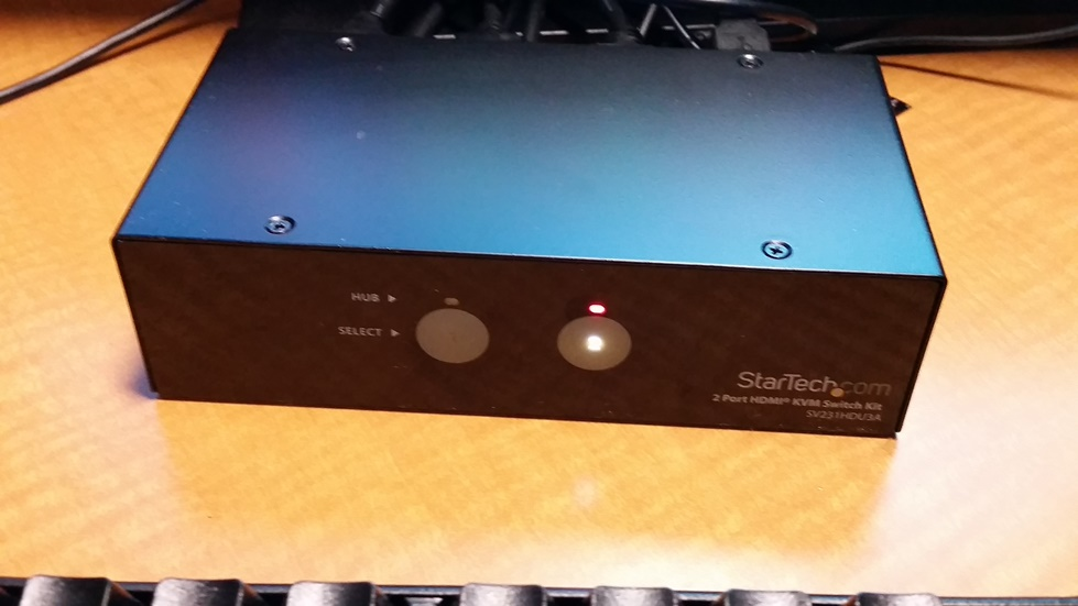StarTech switch to flip to MAC or PC platform