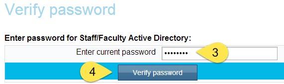 Verify Password